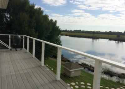 Upper deck lake view