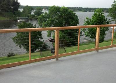 Lake frontage view