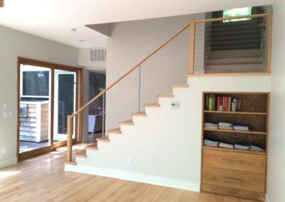 Modern loft staircase design
