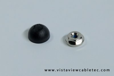 Black Cap + Washer Nut